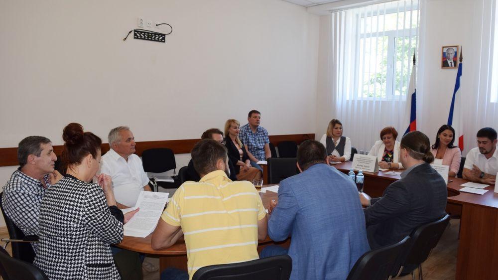 В Государственном комитете конкурентной политики Республики Крым состоялось очередное заседание общественного совета