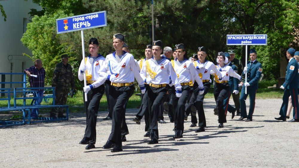 В Бахчисарайском районе стартовал республиканский этап Всероссийской военно-спортивный игры «Победа»