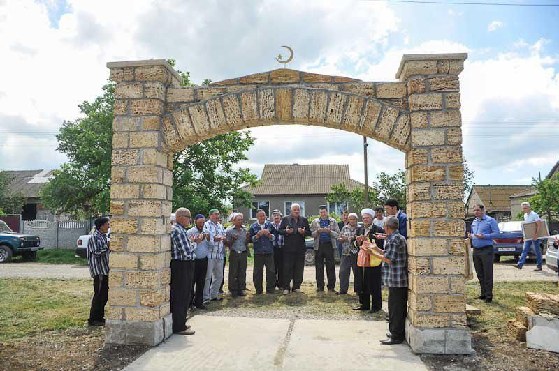 В селе Кара-Кую открыли молельный дом