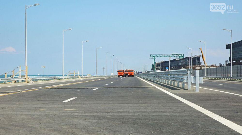Свершилось: Крымский мост открыт для движения автомобилей
