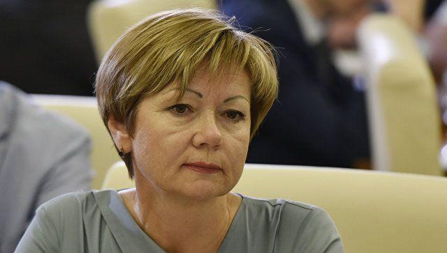 Министр ЖКХ Крыма Марина Горбатюк ушла в отставку