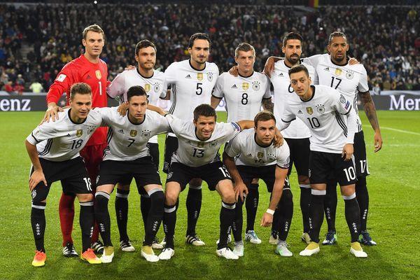 …А побеждают немцы!