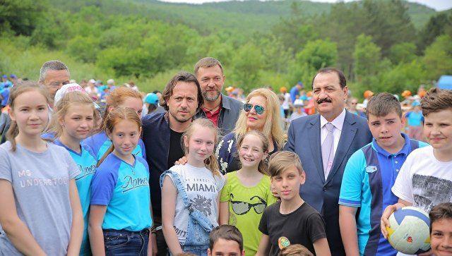 """Сирийский посол посетил туристический слет """"Артека"""""""