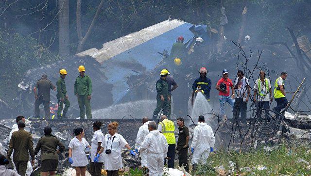 Крушение самолета на Кубе: следователи продолжают искать черный ящик