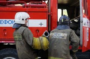 В Крыму из горящего общежития эвакуировали людей