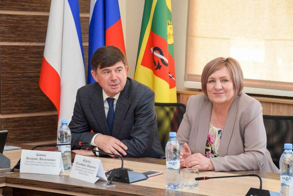 Образовательные учреждения Евпатории и Москвы будут сотрудничать