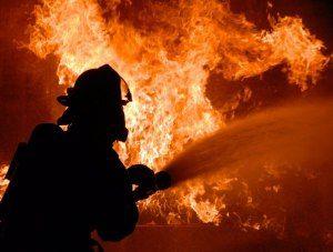 В Крыму горело пятиэтажное общежитие