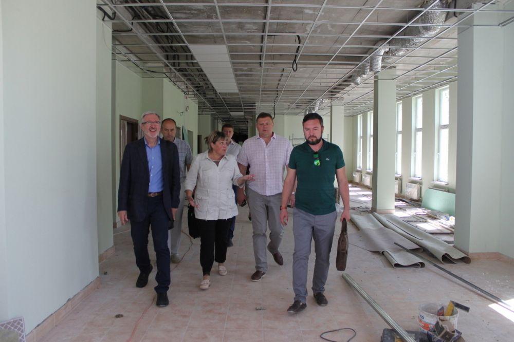 Правительственная комиссия оценила ход строительства музыкальной школы в Севастополе