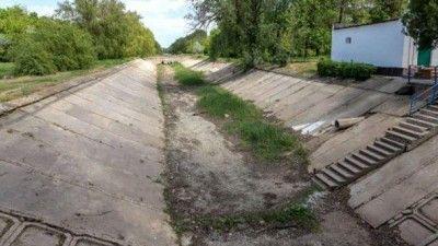 В Крыму почистили Северо-Крымский канал