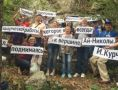 У начала туристического маршрута «Тропа Курчатова» открыли мемориальную доску ученому