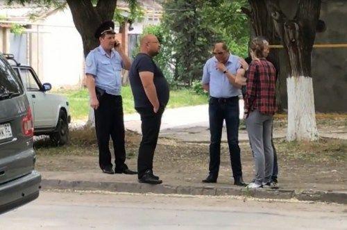 Феодосийца задержали за видеосъемку полицейских