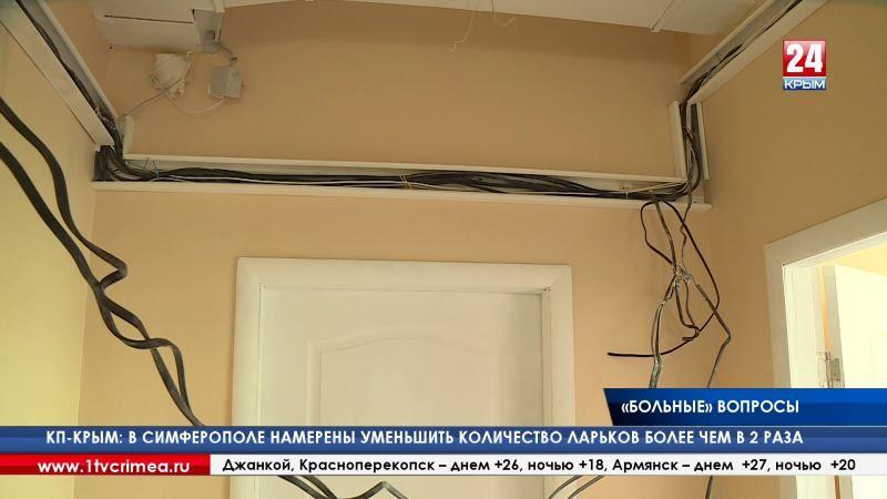 Сергей Аксёнов провёл внеплановый рейд по лечебным учреждениям крымской столицы