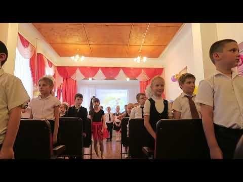 В Феодосии первоклассники отметили окончание учебного года