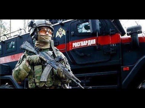 В Крыму машина Росгвардии наехала на легковушку