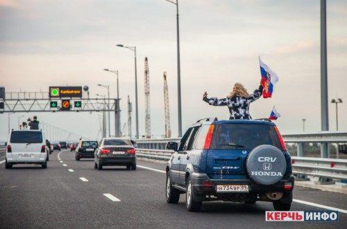 СМИ: крымчане ужаснулись, выехав с полуострова по новому мосту