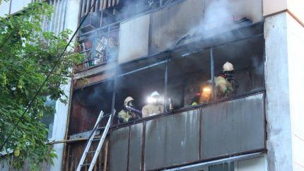 Под Симферополем горел балкон многоэтажки: эвакуированы 25 человек