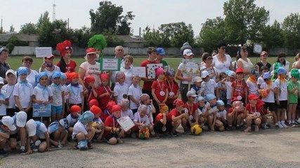 В Нижнегорском районе прошел спортивный праздник для дошкольников