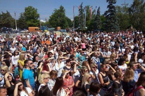 Крымчане вышли на митинг в защиту «Муссона»