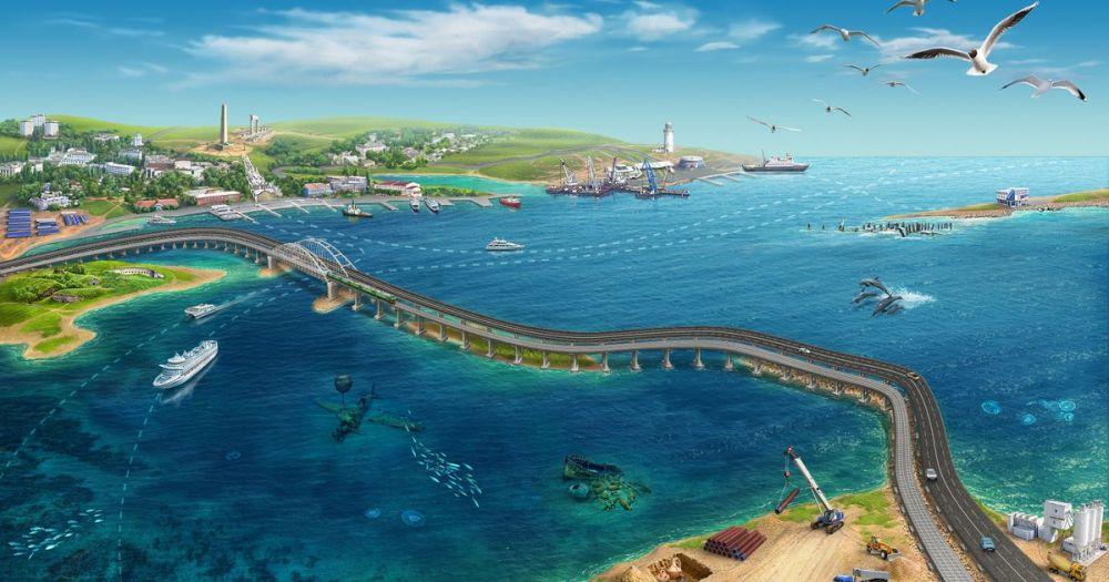 В сети Интернет появился документальный фильм о строительстве Крымского моста