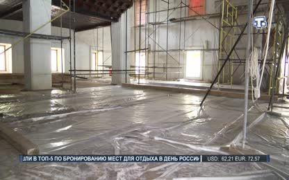 Реставрация Ханской мечети завершается