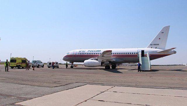 Борт МЧС доставит на лечение в Москву троих крымских детей