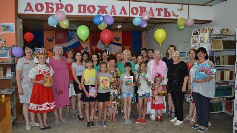 В Раздольненском районе начала функционировать обновленная Федоровская сельская библиотека