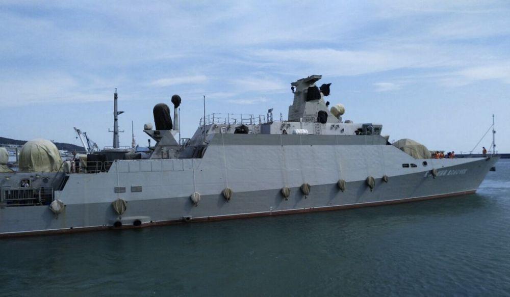Экипаж новейшего мрк «Вышний Волочёк» Черноморского флота готовится к выходу в море
