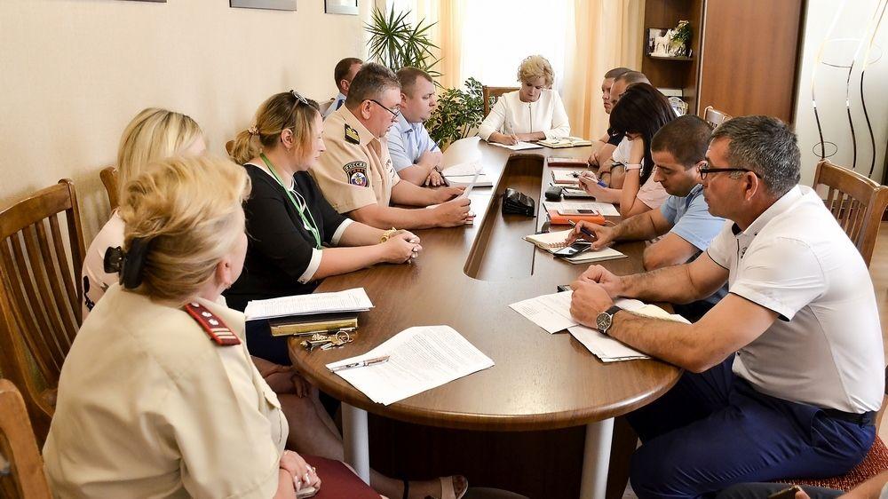 Состоялось совещание с силовыми службами Черноморского района