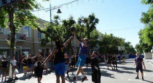Рекордное число участников выступило в турнире по баскетболу 3х3 ко Дню Симферополя