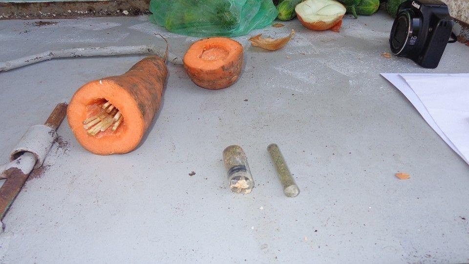 В Крыму заключенному попытались передать марихуану, спрятанную в морковке