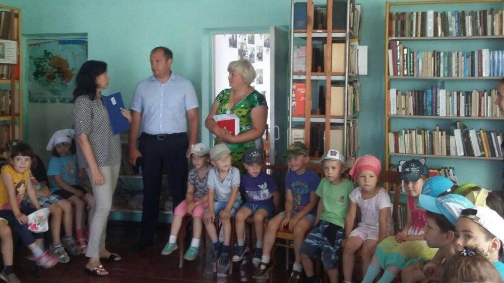Глава администрации Симферопольского района Сергей Донец посетил Пожарское сельское поселение