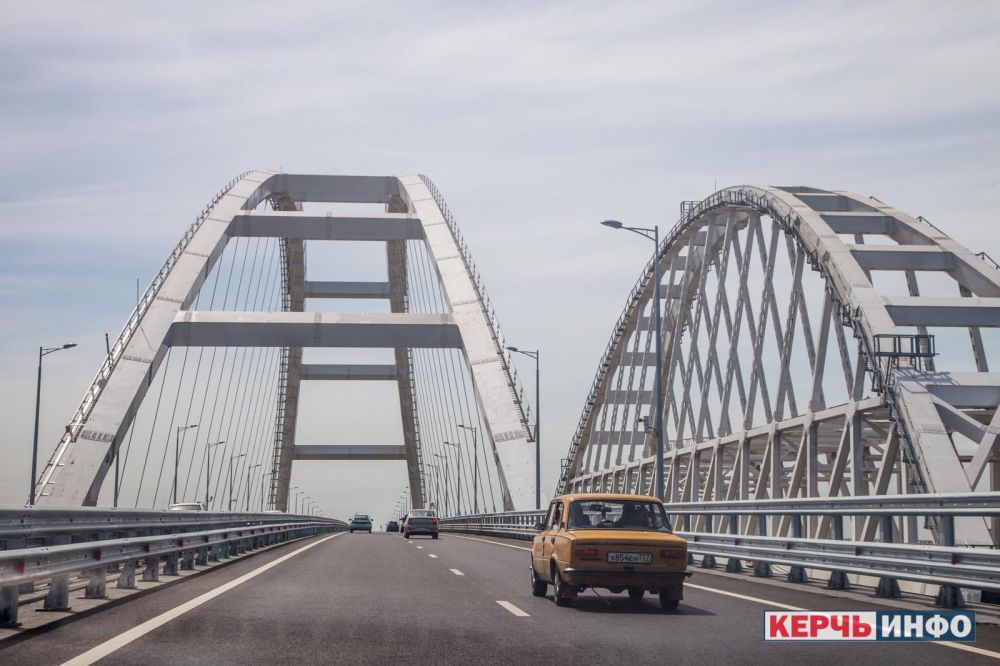 На съезде с Крымского моста произошла смертельная авария