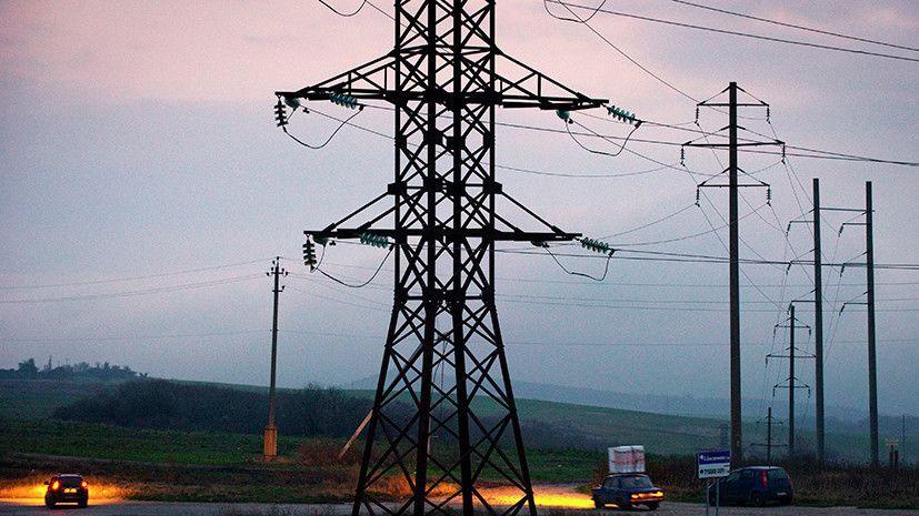 Крымэнерго выясняет причину отключения электричества на полуострове