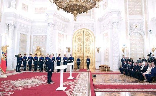 В Кремле прошли праздничные мероприятия по случаю дня России
