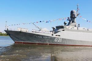 Каспийская флотилия переброшена в Азовское море