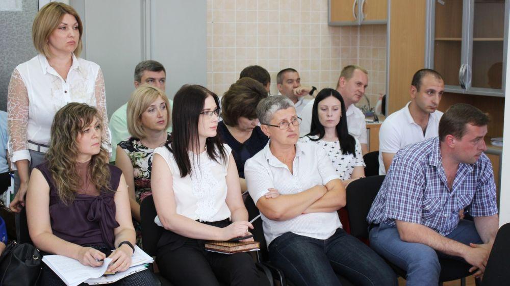 В рейтинге терподразделений Госкомрегистра Симферопольское районное управление в мае заняло первое место