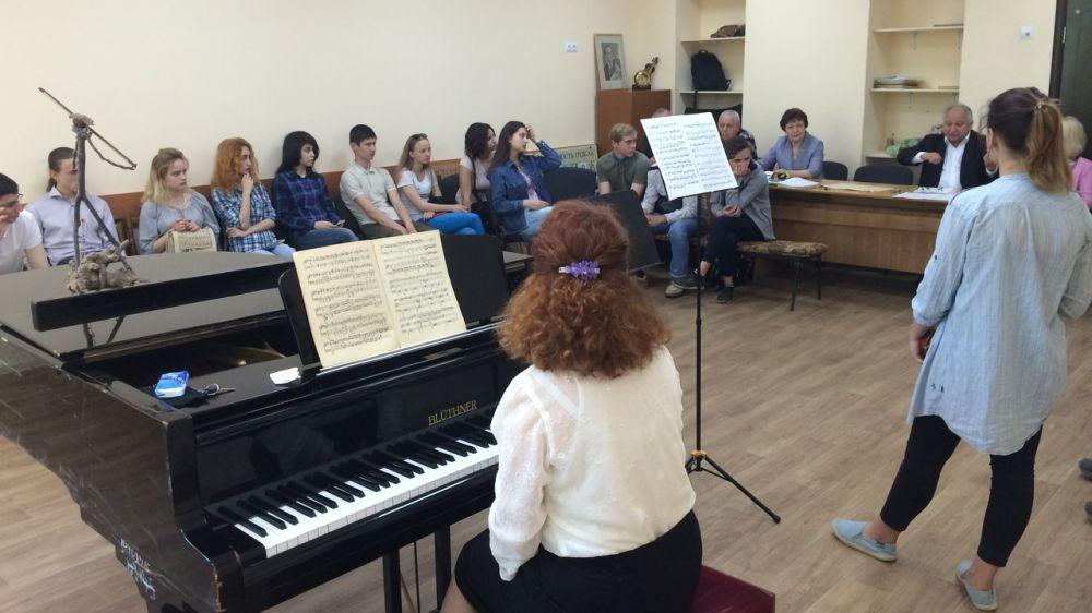 При поддержке Минкульта РК проведены традиционные мастер-классы Санкт-Петербургского Дома музыки