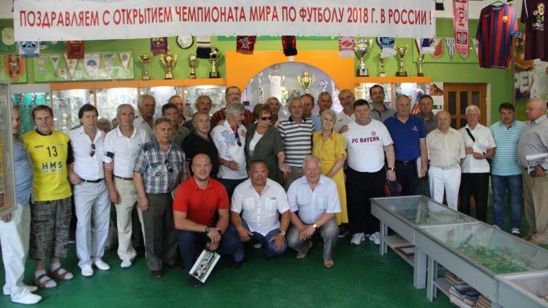 В Ялте прошла встреча любителей футбола