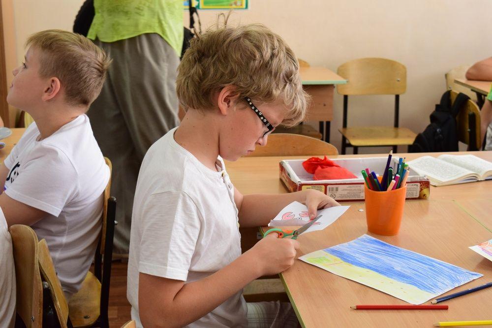 В симферопольских школах проходит летнее оздоровление для школьников