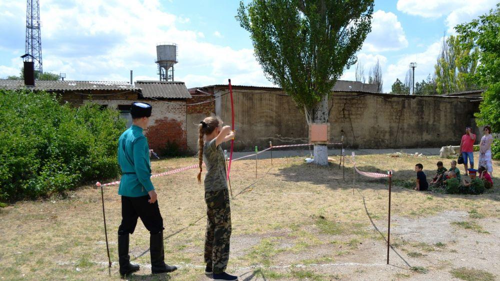 В Красногвардейском районе казачата показывали своё мастерство на традиционных играх «Шермиции-2018»