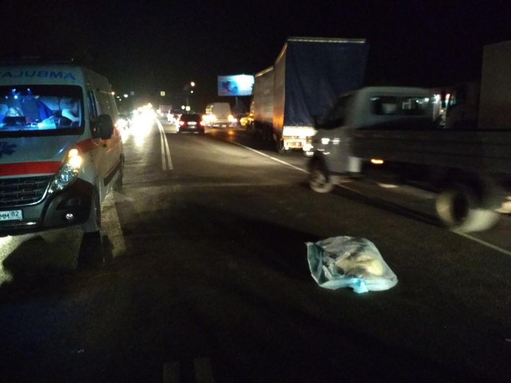 Вечером на дорогах Симферополя травмировали велосипедиста и задавили пешехода (ФОТО, ВИДЕО, 18+)
