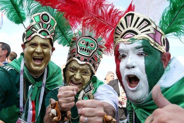 Фанаты сборной Мексики стали причиной землетрясения