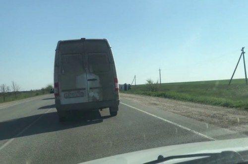 Керченскую трассу водители прозвали «дорогой смерти»