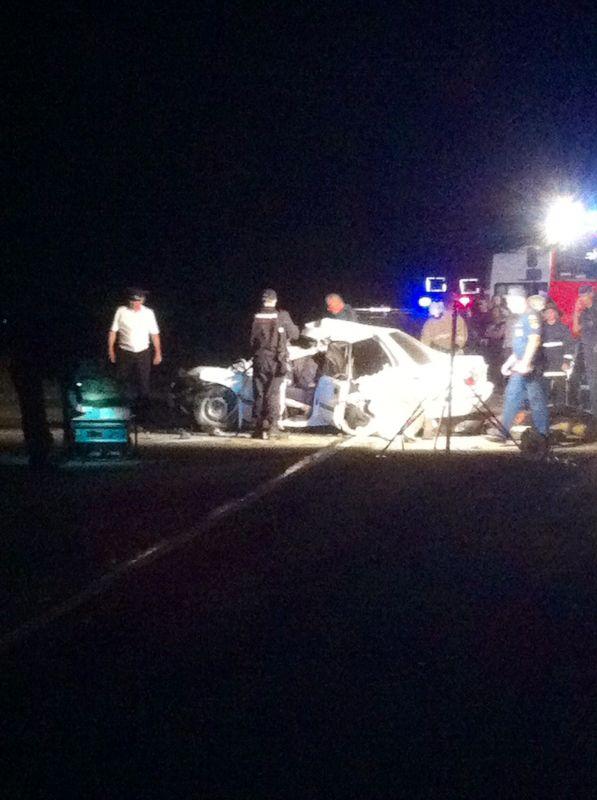 Жуткая авария под Симферополем: пять человек погибли