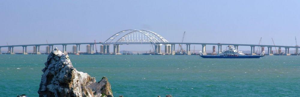 На стройке Крымского моста один рабочий убил второго