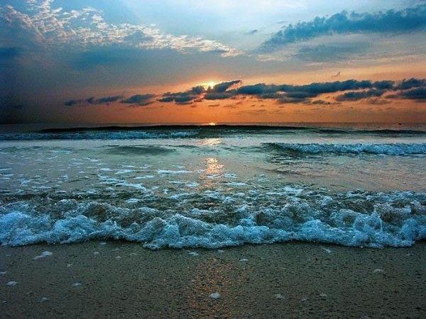 Температура воды в Чёрном море 22 июня
