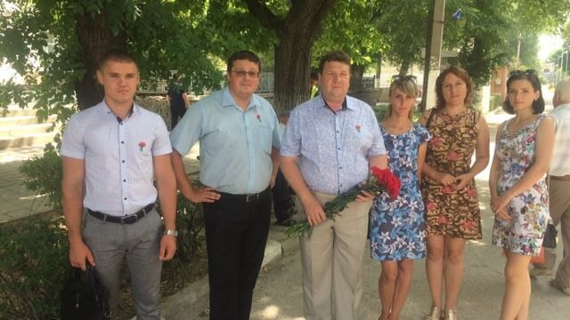 В городе Белогорске прошли траурные мероприятия, посвященные Дню памяти и скорби!