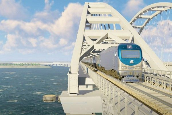 Когда по Крымскому мосту поедут поезда?