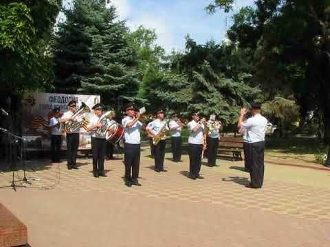 В Феодосии прошел митинг ко Дню памяти и скорби