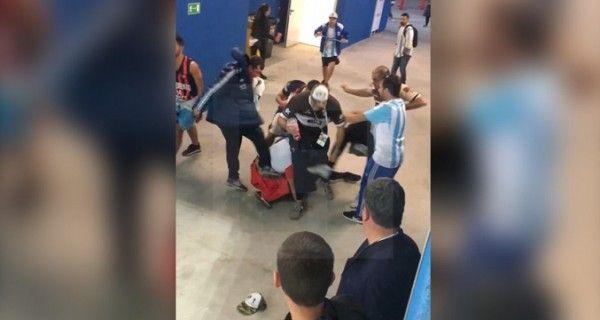 Аргентина требует от России депортировать болельщиков за страшное избиение
